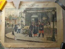 AFFICHE DU PETIT JOURNAL TABLEAU DE H.DUPRAY :LE CAPITALISTE - Affiches
