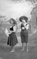 Postcard / CP / Postkaart / Boy / Garçon / Fille / Girl / No 0310 / Unused - Grupo De Niños Y Familias