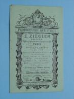 E. ZIEGLER Photographie Artistique Paris ( Zie Foto´s Voor Details ) ! - Photography
