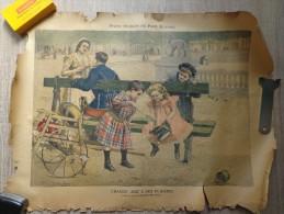 AFFICHE DU PETIT JOURNAL TABLEAU DE CHOCARNE -MOREAU : CHAQUE AGE A SES PLAISIRS - Affiches