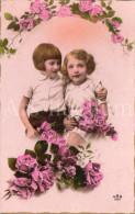 Postcard / CP / Postkaart / Boy / Garçon / Fille / Girl / Ed. Ars / No 7833 / Unused - Grupo De Niños Y Familias