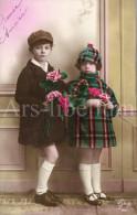 Postcard / CP / Postkaart / Boy / Garçon / Fille / Girl / Ed. Guy / No 160 / 1929 - Grupo De Niños Y Familias