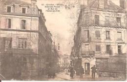 BRIVE (19) Hôtel Des Postes Et Rue De L´Hôtel De Ville - Brive La Gaillarde