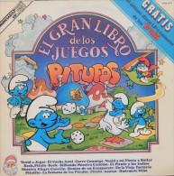 Los Pitufos ( Les Schtroumpfs)33t. LP ESPAGNE *el Gran Libro De Los Juegos* - Children
