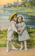 Postcard / CP / Postkaart / Boy / Garçon / Fille / Girl / Series 1687-4 / 1908 - Grupo De Niños Y Familias