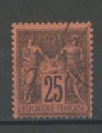 +++  -80% Sur  N°91 Type II    Avec Ou Sans Charnière       SCAN CONTRACTUEL RECTO VERSO - 1876-1898 Sage (Type II)