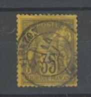 +++  -80% Sur  N°93 Type II    Avec Ou Sans Charnière       SCAN CONTRACTUEL RECTO VERSO - 1876-1898 Sage (Type II)