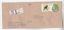 1988 REGISTERED KOLLUPITYA SRI LANKA  Stamps COVER Bird - Sri Lanka (Ceylon) (1948-...)