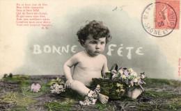 Postcard / CP / Postkaart / Bébé / Baby / Ed. Bergeret / 1906 - Bergeret