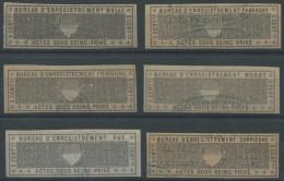 1055 - FRIBOURG Fiskalmarken - Fiscaux