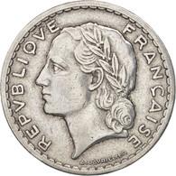 France, Lavrillier, 5 Francs, 1947, Beaumont - Le Roger, TTB+, Aluminum - France