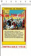 Chromo Le Roi Louis-Philippe Se Rendant à L'Hotel De Ville - Révolution De 1830 - Histoire De France / Le IM 138/25 - Chromos