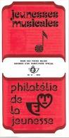 Feuillet N° 17 De 1976 - Poste Belge - Belgium - Jeunesses Musicales - Documents De La Poste