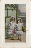 Postcard / CP / Postkaart / Girls / Filles / No 1537-1 / 1909 - Grupo De Niños Y Familias
