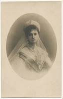 Real Photo Alexandra Feodorovna Tsarine Born Alix De Hesse-Darmstadt Assassinated By Bolcheviks - Russia