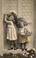 Postcard / CP / Postkaart / Girls / Filles / Ed. P G / No 1589-90 / 1907 - Grupo De Niños Y Familias