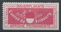 1062 - FRIBOURG Fiskalmarke - Steuermarken