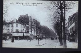 VINCENNES AVE PARIS - Vincennes
