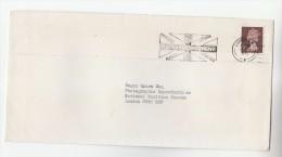 1975 GB Stamps COVER SLOGAN Pmk ROYAL TOURNAMENT EARLS COURT BOX OFFICE Tel Number Illus FLAG - Militaria