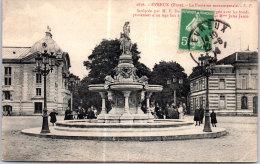 27 EVREUX - La Fontaine Monumentale. - Evreux