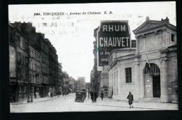 VINCENNES AVENUE CHATEAU RHUM CHAUVET - Vincennes