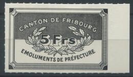 1064 - FRIBOURG Fiskalmarke - Steuermarken