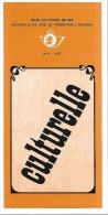 Feuillet N° 4 De 1977 - Poste Belge - Belgium - Culturelle - Documents De La Poste