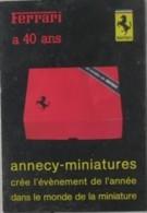 CATALOGO ANNECY MINIATURES - 199? - Francia