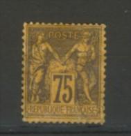 +++  -80% Sur  N°99  Type II    Avec Ou Sans Charnière       SCAN CONTRACTUEL RECTO VERSO - 1876-1898 Sage (Tipo II)