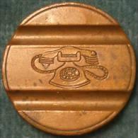 M_p> CURIOSITA' Gettone Telefonico CMM 7711 Con Escrescenza Sopra Cifre 77 Della Data - PREZZO RIBASSATO - Monetary/Of Necessity