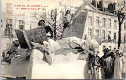 44 NANTES - Mi Carème 1912 - Fleurs De Pensée - Nantes