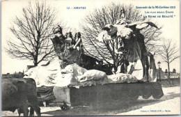 44 NANTES - Mi Carème 1912 - La Reine De Beauté. - Nantes
