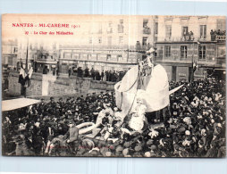 44 NANTES - Mi-carème 1911 - Le Char Des Midinettes. - Nantes