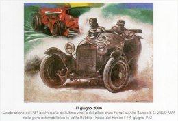BOBBIO (PC) 80° Anniv. Gara Di Velocità In Salita Bobbio-Penice -2009 - - Grand Prix / F1