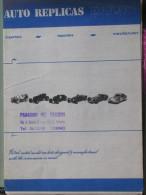 CATALOGO AUTO REPLICAS - 197? - Catalogi
