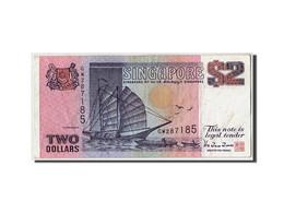 Singapour, 2 Dollars, Non Daté (1998), KM:37, TB - Singapour