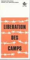 Feuillet N° 9 De 1975 - Poste Belge - Belgium - Libération Des Camps - Documents De La Poste
