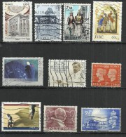 TEN AT A TIME - WEST EUROPEAN STATES - LOT OF 10 DIFFERENT 8 - USED OBLITERE GESTEMPELT USADO - Timbres