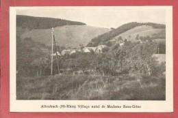 Altenbach (Ht Rhin) Village Natal De Madame Sans Gêne - France