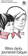 Feuillet N° 8 De 1974 - Poste Belge - Belgium - Fêtes De La Jeunesse Laïque - Documents De La Poste