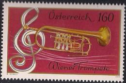 2016 Austria Mi. 3247**MNH   Wiener Trompete, Violinschlüssel - 2011-... Ungebraucht