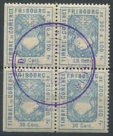 1070 - FRIBOURG Fiskalmarken - Steuermarken