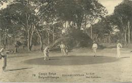 BELGIAN CONGO - Postal Stationary - 15 Centimes - Elisabethville - Le Golf - Golf