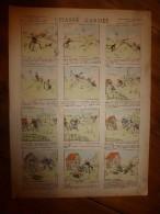 V. 1892 IMAGE D'EPINAL :n°127 CHASSE GARDEE : Histoires & Scènes Humoristiques, Contes Moraux & Merveilleux - Verzamelingen