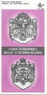 Feuillet N° 3 De 1972 - Poste Belge - Belgium - Union Ecenomique Belgo-luxembourgeoise - Documents De La Poste