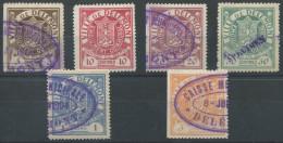 1076 - DELEMONT Fiskalmarken - Fiscaux