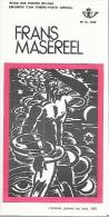 Feuillet N° 15 De 1972 - Poste Belge - Belgium - Frans Masereel - Documentos Del Correo