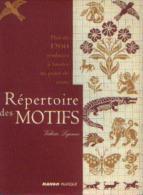 « Plus De 1200 Symboles à Broder Au Point De Croix - Répertoire Des Motifs » LEJEUNE, V. - Ed. Mango Pratique (2002) - Point De Croix