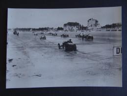 LA BAULE ET L´AUTOMOBILE 3 / Départ Des Courses Automobiles De Vitesse Sur La Plage Dans Les Années 1930 / Tirage Limité - La Baule-Escoublac