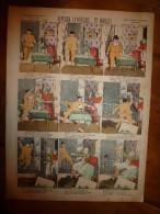 V. 1892 IMAGE D'EPINAL :n°129 FANTAISIE CANICULAIRE ET MORALE :Histoires & Scènes Humoris., Contes Moraux & Merveilleux - Vieux Papiers